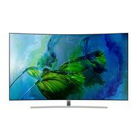 "Samsung 75"" QA75Q8CAM Curved 4K Smart QLED Television"