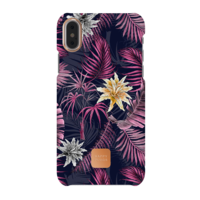 Happy Plugs Protective Case for iPhone X, Hawaiian Nights