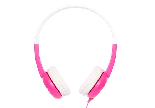 Onanoff BuddyPhones Safe for Kids Headphones, Pink