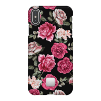 Happy Plugs Protective Case for iPhone XS Max, Vintage Roses