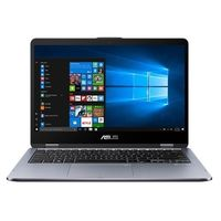 "Asus TP410UF VivoBook Flip i7 8GB, 1TB 14"" Laptop, Grey"