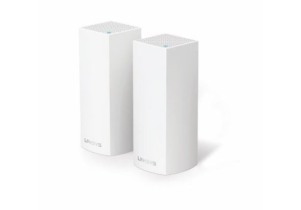Linksys Velop Whole Home Intelligent Mesh WiFi System, Tri-Band, 2-pack