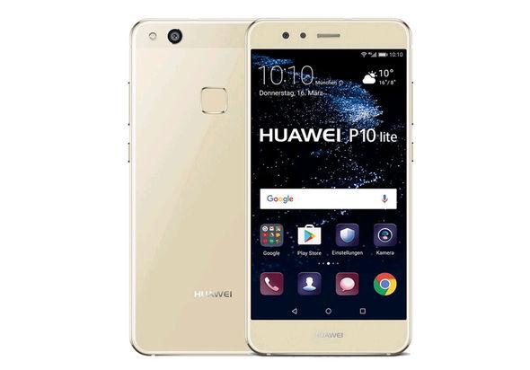 Huawei P10 Lite Smartphone LTE, Platinum Gold