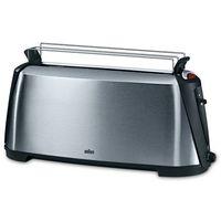 Braun HT600 Sommelier Stainless Steel Toaster, Grey