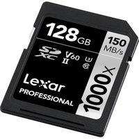 Lexar LSDMI128GCB1000A, 128GB Class-10 SD Card