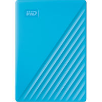 WD 2TB My Passport USB 3.2 Gen 1 External Hard Drive 2019, Sky Blue