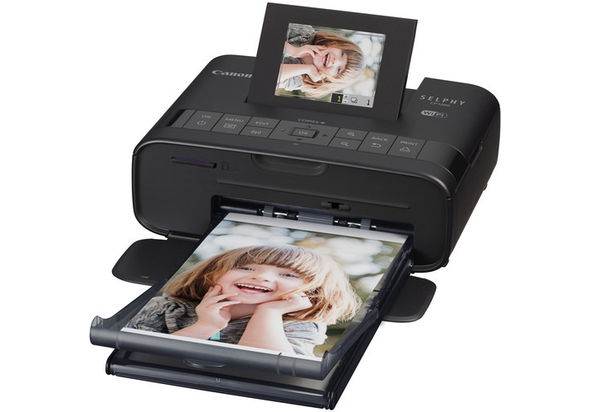 Canon SELPHY CP1200 Wireless Compact Photo Printer with Canon Connect Station CS100 Storage Device