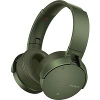Sony XB950N1 Extra Bass Wireless Noise Cancelling Over-the-Ear Headphones, Green