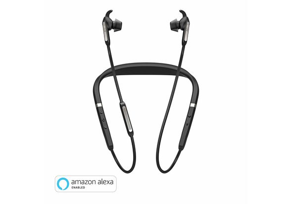 Jabra Elite 65e Wireless Stereo Neckband, Titanium Black