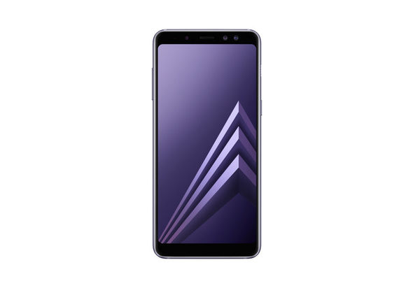 Samsung Galaxy A8 2018 Smartphone LTE, Orchid Gray