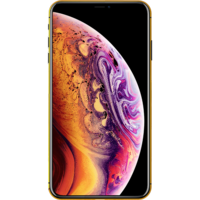 Switch Plated Gold Frame Apple iPhone XS Max Smartphone LTE,  Space Gray, 512 GB
