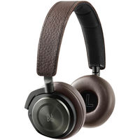 B&O PLAY by Bang & Olufsen Beoplay H8 Wireless On-Ear Headphones with Active Noise Cancellation, Gray Hazel