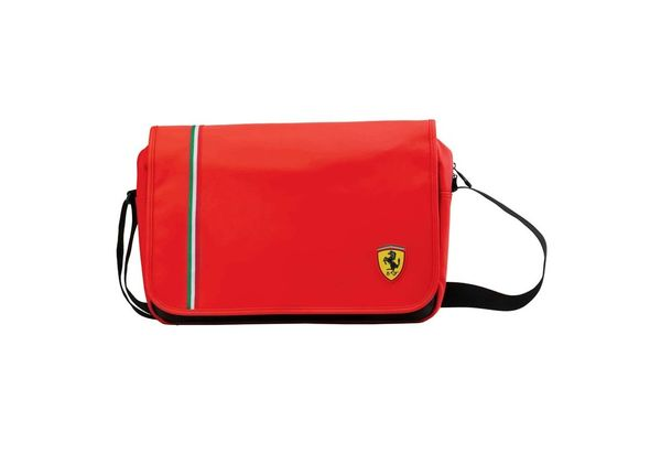 Ferrari Messenger Bag Red