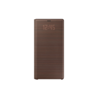 Samsung Note 9 LED View Cover,  Brown