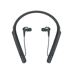 Sony WI1000X/B Premium Noise Cancelling Wireless Behind-Neck In Ear Headphones, Black