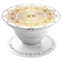 PopSockets Finger Grip, Golden Silence
