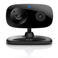 Motorola Focus 66 Wi-Fi HD Audio and Video Home Monitoring Camera, Black