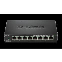 Dlink 8-Port Fast Ethernet Unmanaged Desktop Switch