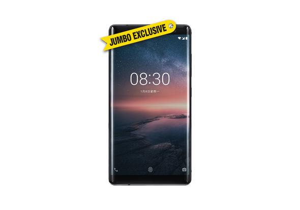Nokia 8 Sirocco Smartphone LTE, Black