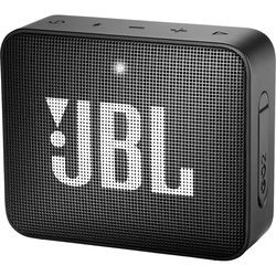 JBL GO 2 Portable Bluetooth Speaker,  Midnight Black