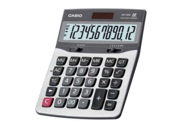 Casio DX120S-R Value Series Calculator