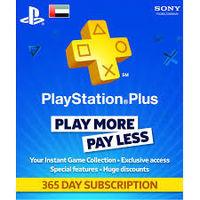 PlayStation Plus 365 Day Membership Card