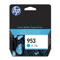HP 953 Original Ink Cartridge, Cyan
