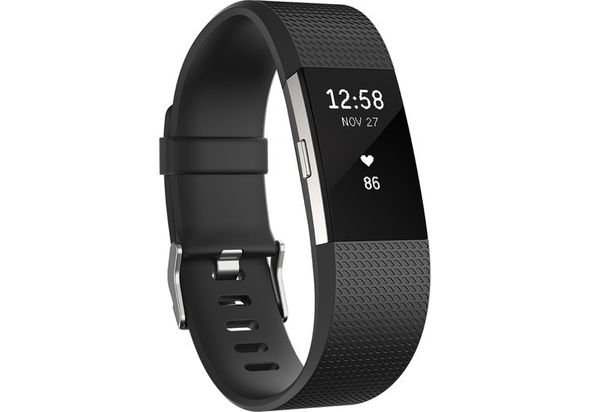 Fitbit Charge 2 Fitness Wristband Small, Black