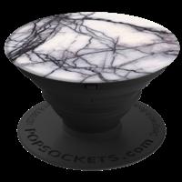 PopSockets Finger Grip, White Marble