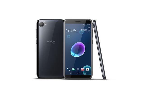 HTC Desire 12 Smartphone LTE, Cool Black
