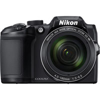Nikon COOLPIX B500 Digital Camera Deluxe Kit, Black