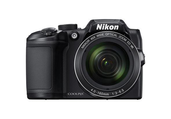 نيكون كول بيكس بي500 ، كاميرا مدمجة، اسود