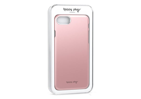 Happy Plugs iPhone 7 Slim Case, Pink Gold