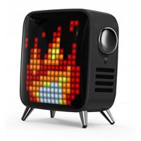 Divoom Tivoo Max Retro Bluetooth Speaker, Black