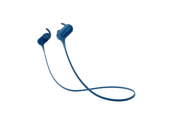 Sony MDRXB50BS EXTRA BASS Sports Bluetooth In-ear Headphones, Blue