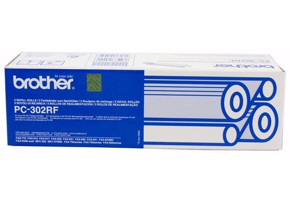 Brother PC-302RF Compatible Thermal Fax Ribbons