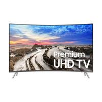 "Samsung 65"" UA65MU8500 Curved 4K UHD TV"