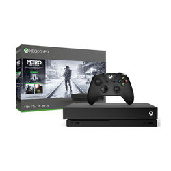 Microsoft Xbox One X 1TB Console with Metro Exodus
