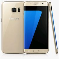 Samsung Galaxy S7 Edge Smartphone, 32 GB, Gold Platinum