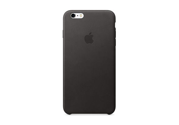 Apple iPhone 6s Plus Leather Case, Black