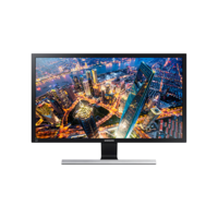 "Samsung 28"" LU28E590DS Monitor with High Glossy Finish"