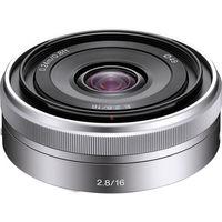 Sony E-Mount SEL16F28 16mm f/2.8 Wide-Angle Alpha E-Mount Lens