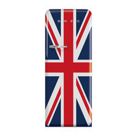 Smeg FAB28RDUJ3GA Single Door Refrigerator 281 L, Union Jack