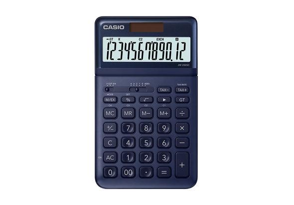 Casio JW-200SC Desktop Calculator,  Gold