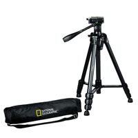 National Geographic 3-way head Tripod, Black