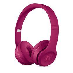 Beats Solo3 Wireless On-Ear Headphones Neighborhood Collection, Brick Red