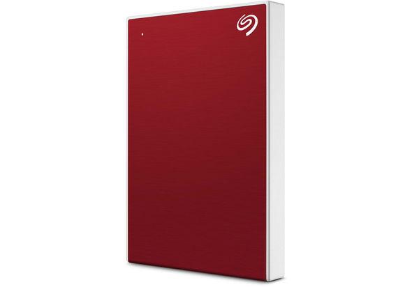 Seagate 1TB Backup Plus Slim USB 3.0 External Hard Drive, Red