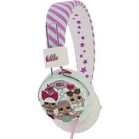 OTL Technologies L. O. L Surprise! Fun Folding Multi Club Tween Headphones Pink and White