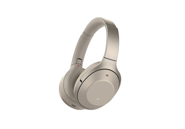 Sony WH1000XM2/N Premium Noise Cancelling Wireless Headphones, Gold