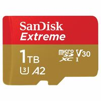 SanDisk Extreme 1TB Micro SDXC UHS-I Memory Card